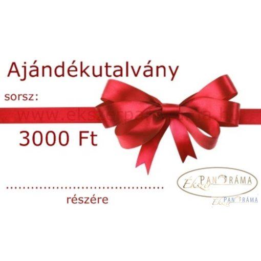 Ajándékutalvány 3000