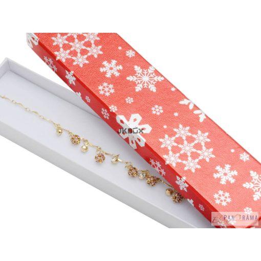 Díszdoboz karácsonyi  - karlánc, nyaklánc részére