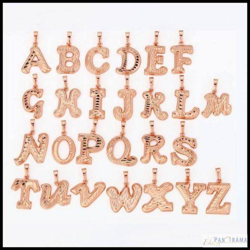 Gold Filled  18K medál ABC