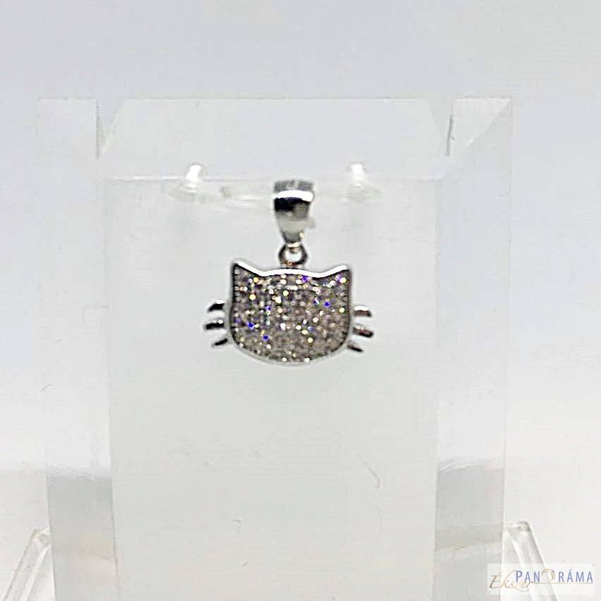 925 Ezüstös medál - Cat