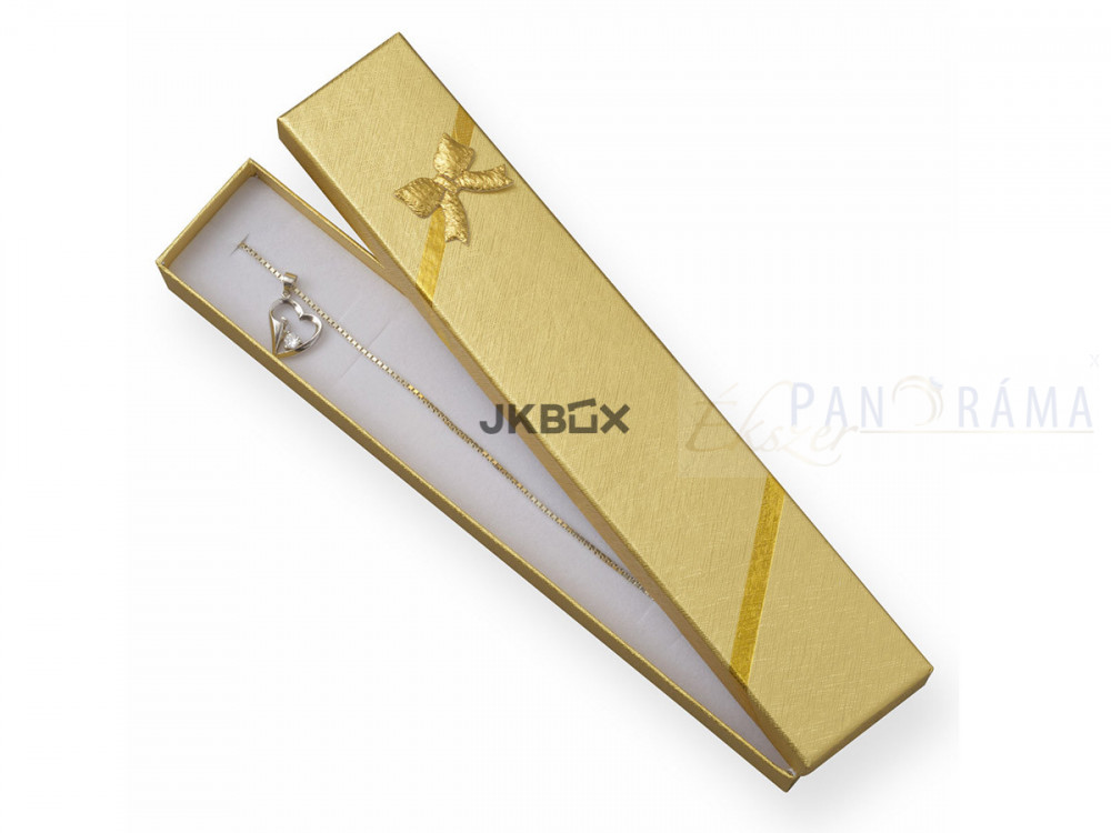 Díszdoboz lánc-karláncnak - arany