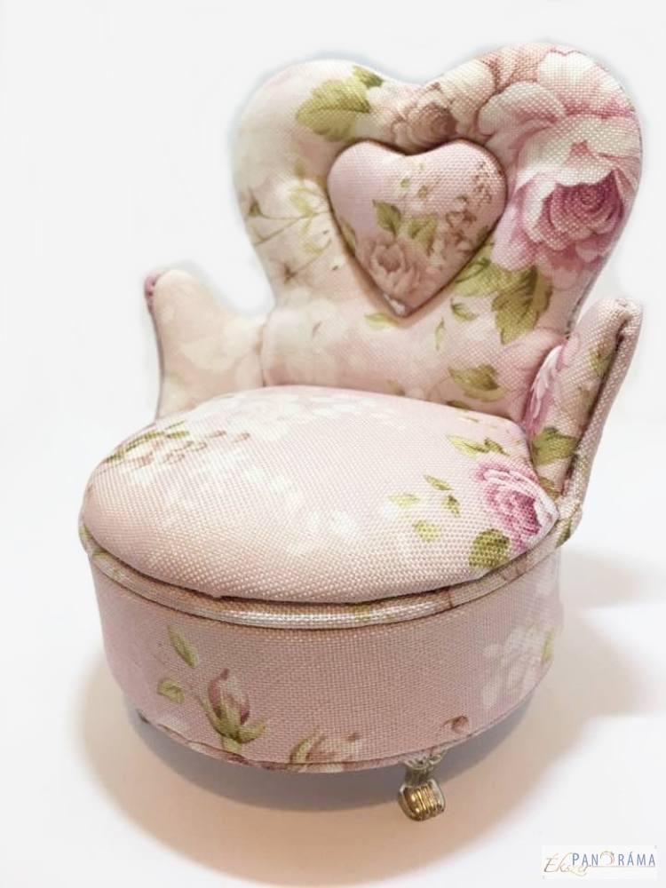 Ékszertartó fotel - vintage