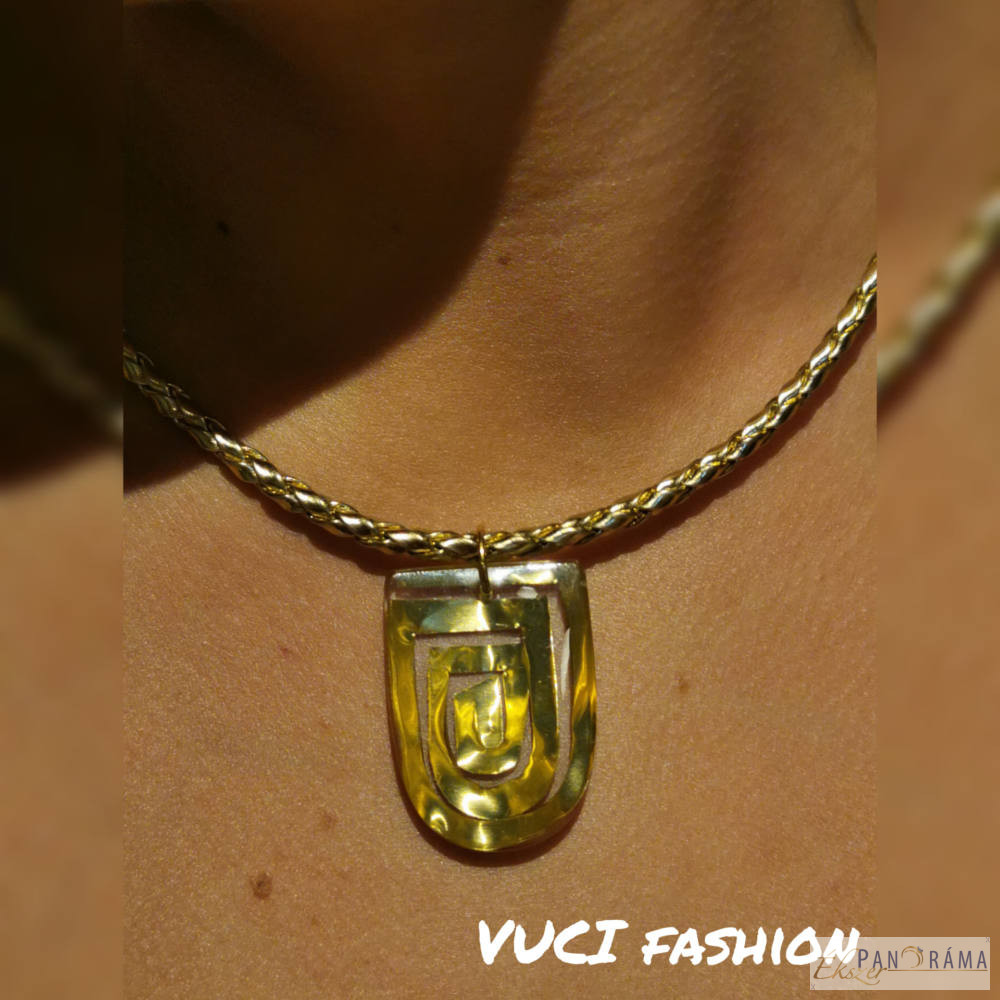 Kézműves, egyedi medálos nyaklánc - Danubia gold